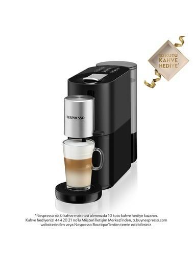 Nespresso Atelıer S85 Kapsüllü Kahve Makinesi Siyah